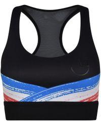 Pocket Sport - Impasto Support Sports Bra In Black - Lyst