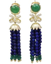 Bellus Domina - Amare Lapis Earrings - Lyst