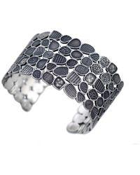 Jan D - Large Textures Bracelet - Lyst
