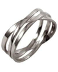 MARIE JUNE Jewelry - Coil Silver Ring - Lyst