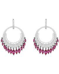 Opes Robur - Dreamcatcher Earrings - Lyst