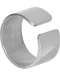 Edge Only - Gap Ring Men's Silver - Lyst