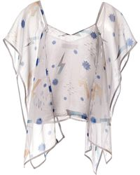 Supersweet x Moumi - Panel Cami - Lyst