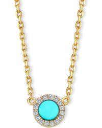 Elham & Issa Jewellery - Awe Circle Diamond Necklace - Lyst