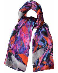 Jennifer Rothwell - Crane Print Silk Scarf - Lyst