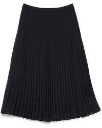 Thacker NYC - Barcelona Skirt Black - Lyst