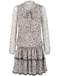 Ju Lovi - Miami Silk Dress Floral - Lyst