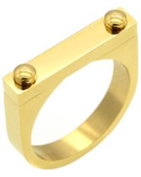 Opes Robur | Opes D2 Ring Gold | Lyst