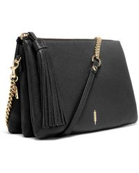 Thacker NYC - Ladybird Chain Clutch In Black And Gold - Lyst