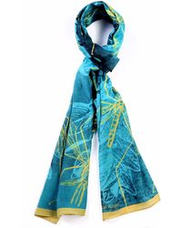 Tal Angel - The Blue Mosquito Silk Scarf - Lyst