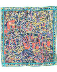 Medley Creations - Split Destiny Silk Neckerchief - Lyst