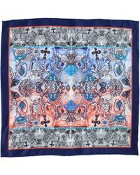 Medley Creations - London Calling Silk Neckerchief - Lyst