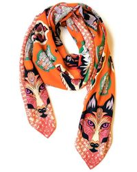 Helen Ruth - Wolf In Sheep's Clothing- Orange - Lyst