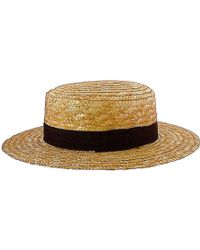 Alpachura - Achuar Boater Hat - Lyst