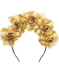 Maggie Mowbray Millinery - Angéle Rose Crown - Lyst