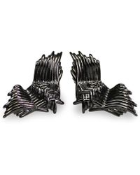 Bellus Domina - Angel Wings Stud Earrings - Lyst