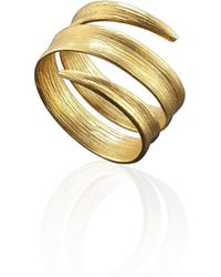 Catherine Zoraida - Blade Of Grass Ring - Lyst