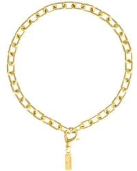 Glenda López - The Small Golden Links Necklace - Lyst