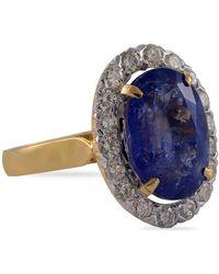 Emma Chapman Jewels - Anastasia Tanzanite Diamond Ring - Lyst