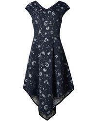 Xllullan - Bianca Fitted Italian Jacquard Dress - Lyst