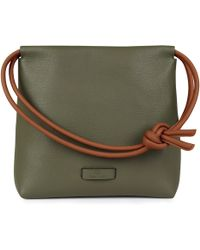 96e3a3864c81 Alexander Wang Rex Mini Fur Handbag In Rust in Brown - Lyst