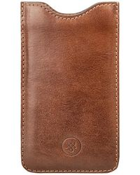 Maxwell Scott Bags - Tan Leather Samsung Galaxy S7 Phone Sleeve The Sasso - Lyst