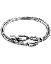 Anchor & Crew - Padstow Mooring Silver Chain Bracelet - Lyst