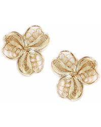 Kitik Jewelry - Tika Gold Earrings - Lyst