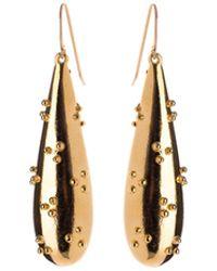 Nina Kastens Jewelry - Bolitos Earrings Gold - Lyst