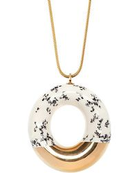 Tadam! Design - Doughnut With Poppy Seeds & Gold Glaze - Lyst