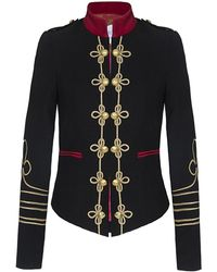 The Extreme Collection - Ornament Blazer Black - Lyst