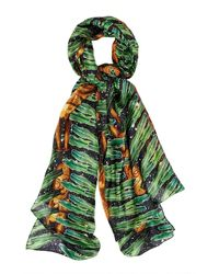 Kekkai - Silk Aztec Jungle Patch - Lyst