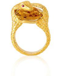 Alexandra Alberta - Gaia Quartz Ring - Lyst