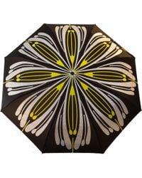 Raindance Umbrellas - Flores Yellow & Silver - Lyst