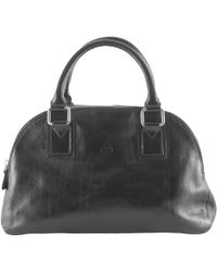 Maxwell Scott Bags - Luxury Italian Leather Women's Bowling Bag Liliana S Night Black - Lyst