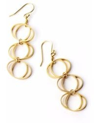 Nakibirango - London | Gold Daphne Earrings | Lyst