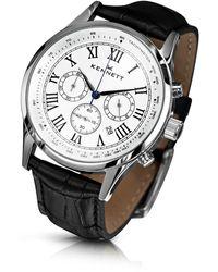 Kennett Watches - Savro Silver White Black - Lyst