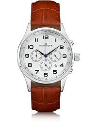 Kennett Watches - Savro Silver Light Brown Modern - Lyst