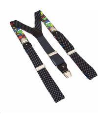 40 Colori - Polka Dot Wool & Silk Braces - Lyst