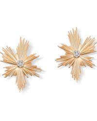 Elham & Issa Jewellery - Evolution Rose Earrings - Lyst