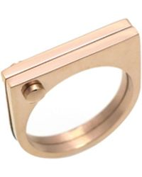 Opes Robur - Rose Gold D Ring - Lyst