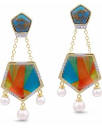 LMJ - Wild & Free Earrings - Lyst