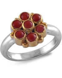 Emma Chapman Jewels - Bellina Coral Ring - Lyst