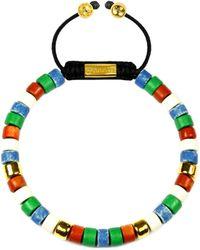 Clariste Jewelry - Men's Ceramic Bead Bracelet Multicolour - Lyst