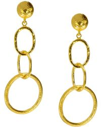 Ottoman Hands - See'est Chic Statement Chain Drop Earrings - Lyst