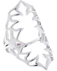 Sarah Ho - Sho - Bella Ring Large Silver - Lyst