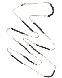 Cosanuova - Long Sapphire Necklace - Lyst
