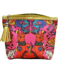 Jessica Russell Flint - Cairo Cats Make Up Bag - Lyst