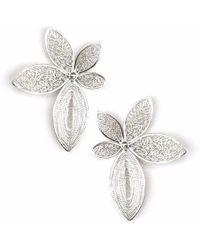 Kitik Jewelry - Mari Silver Earrings - Lyst