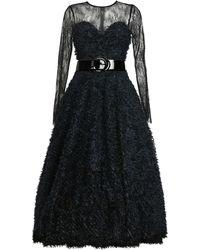 MATSOUR'I - Cocktail Dress Sylke Black - Lyst